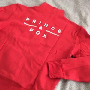 Prince & Fox Tops - {SOLD} NEW Half-Zip Sweatshirt